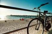 Pláž v blízkosti města Adelaide, SACE Austrálie