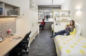 Studentské studio pro maximálně dva studenty, Browns Brisbane Austrálie