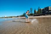 Jazyková škola se nachází jen pár kroků od pláže, Lexis Sunshine Coast, Austrálie
