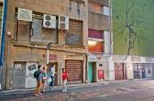 Studenti anglického jazyka během objevování města Brisbane, Lexis Austrálie