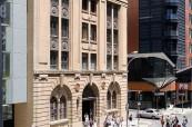 Budova jazykové školy SACE v Adeilade, Austrálie