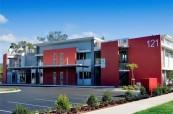 Budova jazykové školy SACE Whitsundays Austrálie