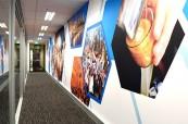 Moderní prostory jazykové školy Discover English Melbourne v Austrálii