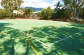 V areálu školy se nachází také venkovní hřiště na basketbal, Sun Pacific College, Austrálie