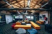 Moderní prostory školy, AIT Sydney, Austrálie