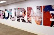 Nové moderní prostory školy Discover English v Melbourne v Austrálii