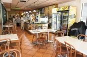 Kafeterie, kde se mohou studenti občerstvit, Milner College Perth Austrálie