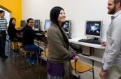 Ve školou IH Sydney City/Bondi mohou studenti využívat počítače a přístup na internet po celé budově