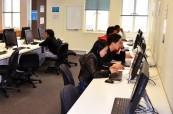 Počítačová učebna v jazykové škole SACE Adelaide Austrálie