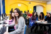 Prostory školy jsou příjemně zařízené a studenti mají veškerý potřebný komfort, IH Sydney City and Bondi