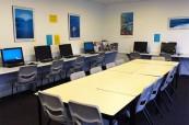 Počítačová učebna, SACE Whitsundays Austrálie