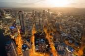 Panoramatický pohled na město Brisbane, Lexis Austrálie