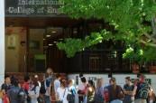 Budova jazykové školy Milner College v Perthu v Austrálii