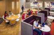 Společné prostory studentů angličtiny v ubytování, Browns Brisbane Austrálie