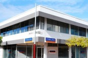 Budova školy Sterling Business College v Perthu, Austrálie