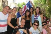 Studenti jazykového kurzu angličtiny, Milner College Perth