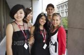 Studenti jazykového kurzu angličtiny na škole Browns Brisbane v Austrálii