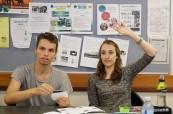 Studenti jazykového kurzu angličtiny na škole Cairns College of English, Austrálie