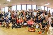 Studenti odborné školy College of Sports and Fitness v Sydney, Austrálie