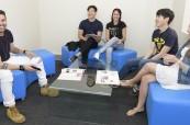 Studenti jazykové školy Discover English v Melbourne