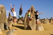 Studenti anglického jazyka si užívají australského sluníčka, Milner College Perth Austrálie