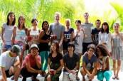 Absolventi kurzu angličtiny na jazykové škole SACE Whitsundays Austrálie