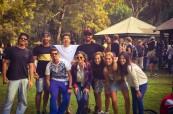 Studenti jazykového kurzu anglického jazyka v Byron Bay, Lexis, Austrálie