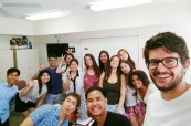 Studenti jazykového kurzu angličtiny, Milner College Perth Austrálie