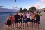 Studenti jazykové školy Milner College Perth v Austrálii