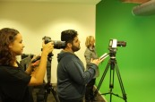 Studenti během výuky, AIT - Academy of Information Technology, Sydney, Austrálie
