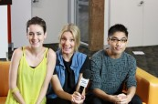 Studenti odborné školy AIT - Academy of Information Technology, Sydney, Austrálie