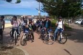 Projížďky na kole jsou u studentů velice oblíbené, SELC Sydney, Austrálie