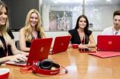 Studenti angličtiny na jazykovém kurzu na škole Browns Brisbane, Austrálie