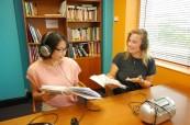 Studenti během výuky angličtiny, Cairns College of English Austrálie