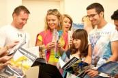 Studenti během výuky na škole Sterling Business College, Perth Austrálie
