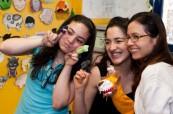 Studentky jazykového kurzu angličtiny v Austrálii, International House Sydney City/Bondi