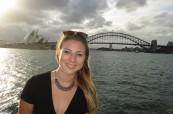 Studentka anglického jazyka v Sydney, SELC Bondi, Sydney, Austrálie