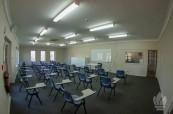 Učebna odborné školy zaměřené na sport a fitnes, CSF, Sydney, Austrálie