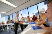 Studenti jazykového kurzu angličtiny, SELC Bondi, Austrálie