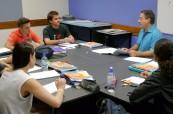 Studenti angličtiny ve škole, Cairn College of English, Austrálie