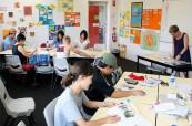 Prostory školy, kde mají mezinárodní studenti vše potřební k dispozici, SACE Whitsundays Austrálie