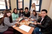 Studenti během výuky anglického jazyka, IH Sydney City/Bondi